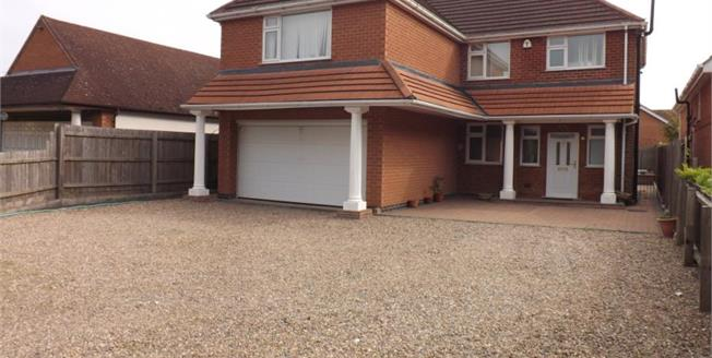 Offers Over £400,000, 5 Bedroom Detached House For Sale in Leicester Forest East, LE3