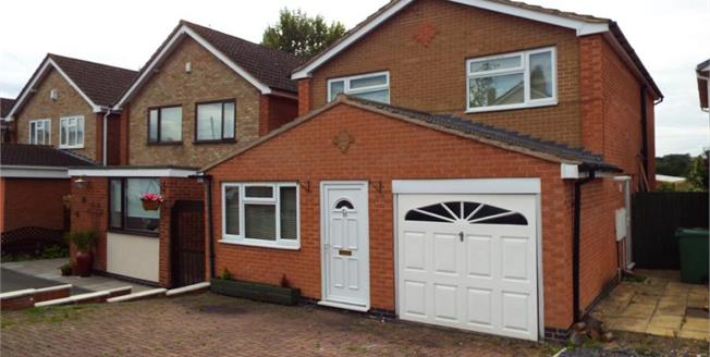 £230,000, 4 Bedroom Detached House For Sale in Glenfield, LE3
