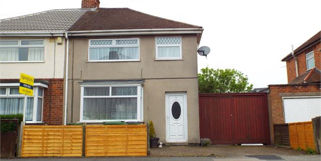 Guide Price £145,000, 3 Bedroom Semi Detached House For Sale in Leicester, LE3