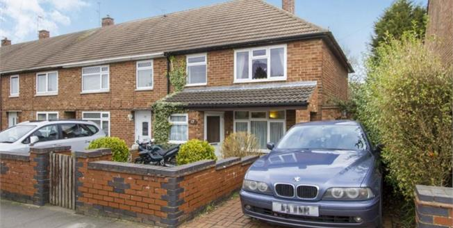 Offers in excess of £135,000, 3 Bedroom End of Terrace House For Sale in Leicester, LE2
