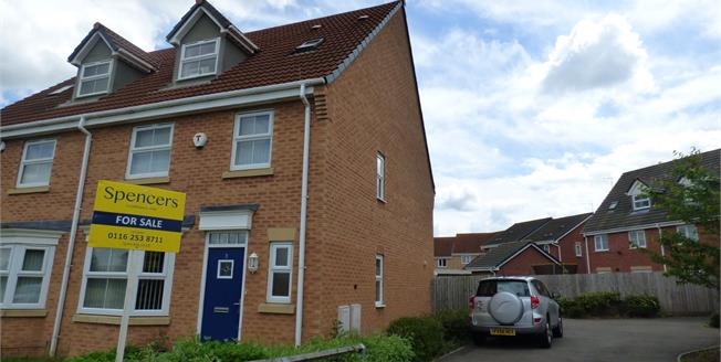 Offers Over £250,000, 6 Bedroom Semi Detached House For Sale in Hamilton, LE5