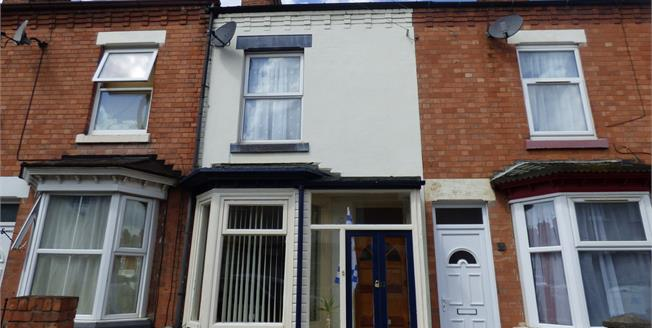 Guide Price £125,000, 2 Bedroom Terraced House For Sale in Leicester, LE2