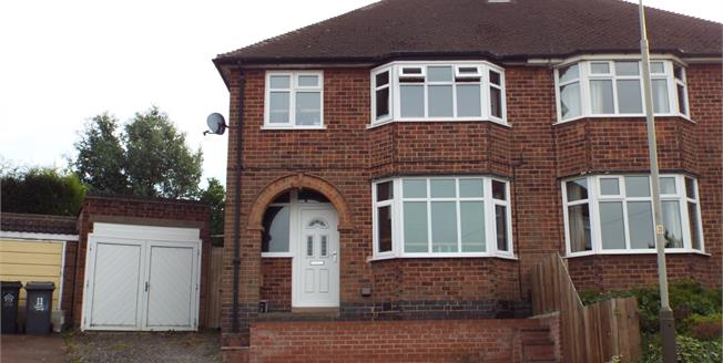 Asking Price £180,000, 3 Bedroom Semi Detached House For Sale in Leicester, LE3