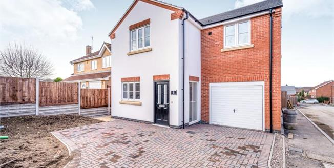 £370,000, 4 Bedroom Detached House For Sale in Kathleen Close, LE3