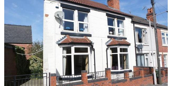 Asking Price £80,000, 2 Bedroom End of Terrace House For Sale in Mansfield, NG18