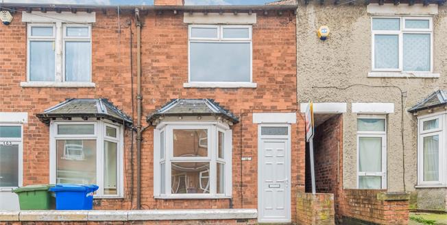 Offers in the region of £70,000, 3 Bedroom Terraced House For Sale in Mansfield, NG18