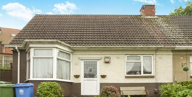 Asking Price £80,000, 2 Bedroom Semi Detached House For Sale in Mansfield, NG19
