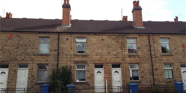 Offers Over £70,000, 3 Bedroom Terraced House For Sale in Mansfield, NG18