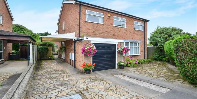 Offers Over £240,000, 4 Bedroom Detached House For Sale in Mansfield, NG18