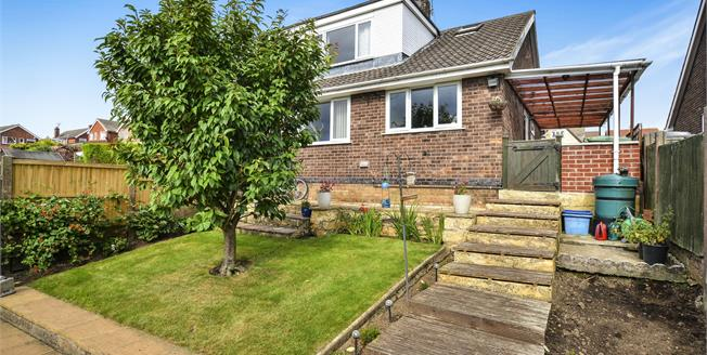 Guide Price £120,000, 3 Bedroom Semi Detached House For Sale in Pleasley, NG19
