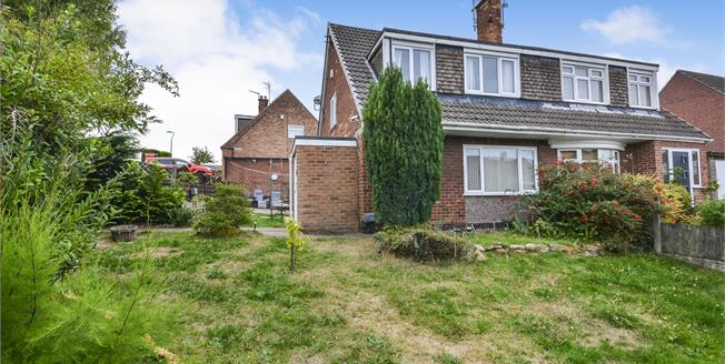 Guide Price £140,000, 3 Bedroom Semi Detached House For Sale in Mansfield, NG18