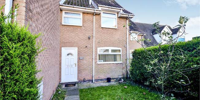 Guide Price £110,000, 3 Bedroom Semi Detached House For Sale in Mansfield, NG18