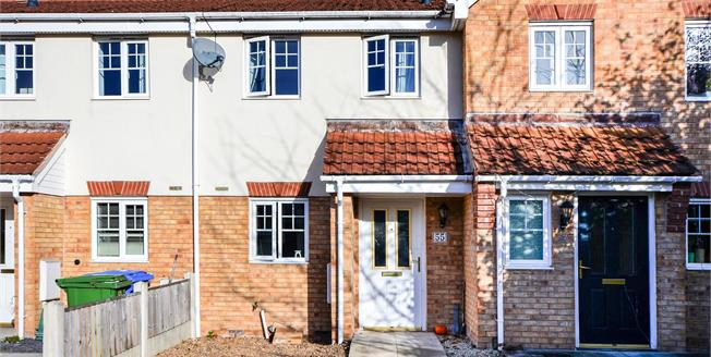 Guide Price £110,000, 2 Bedroom Terraced House For Sale in Mansfield, NG18