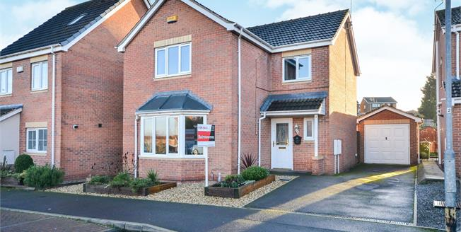 £220,000, 4 Bedroom Detached House For Sale in Forest Town, NG19