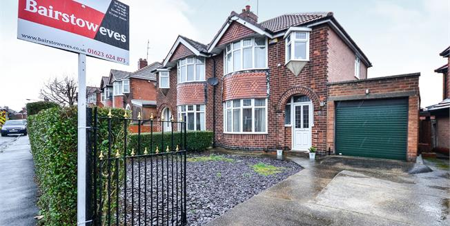 Asking Price £155,000, 3 Bedroom Semi Detached House For Sale in Pleasley, NG19