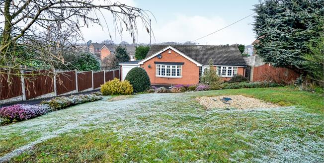 £220,000, 2 Bedroom Detached Bungalow For Sale in Mansfield, NG18