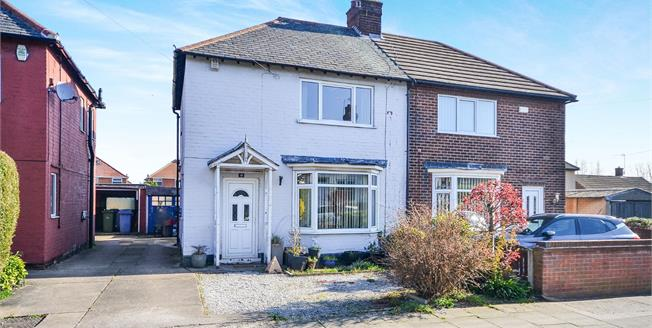 Offers Over £100,000, 2 Bedroom Semi Detached House For Sale in Mansfield, NG18