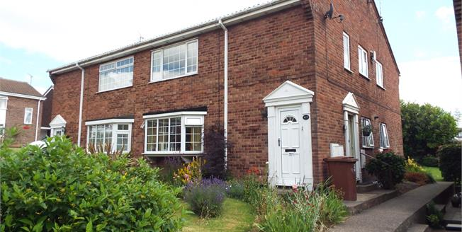 Asking Price £80,000, 2 Bedroom Maisonette For Sale in Mansfield, NG19
