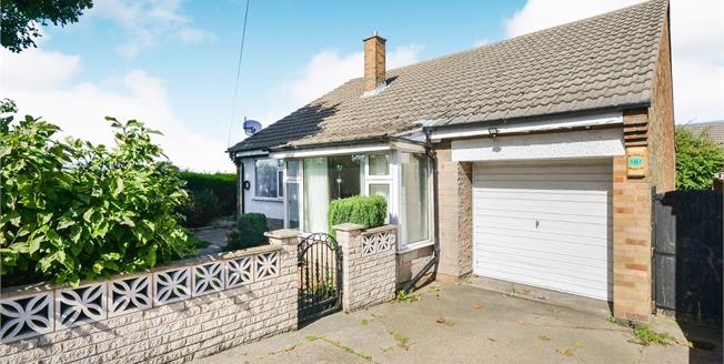 Guide Price £180,000, 3 Bedroom Detached Bungalow For Sale in Mansfield, NG19