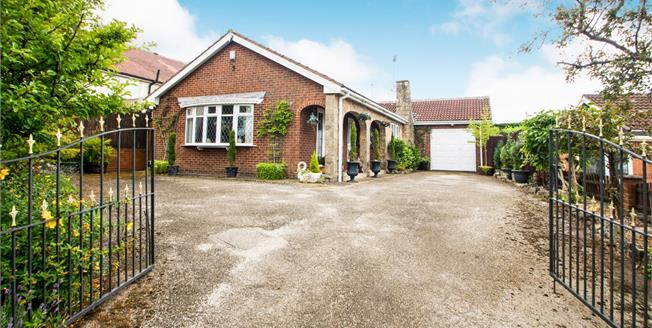 Asking Price £260,000, 4 Bedroom Detached Bungalow For Sale in Mansfield, NG18