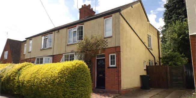Guide Price £245,000, 2 Bedroom Semi Detached House For Sale in Lubenham, LE16