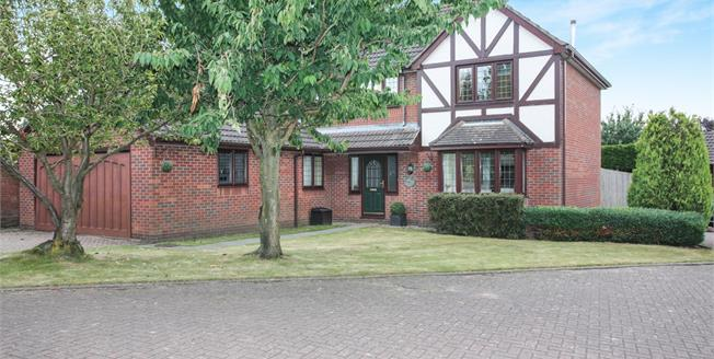 Guide Price £425,000, 4 Bedroom Detached House For Sale in Lutterworth, LE17