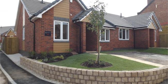 £139,950, 2 Bedroom Semi Detached Bungalow For Sale in Nottinghamshire, NG19