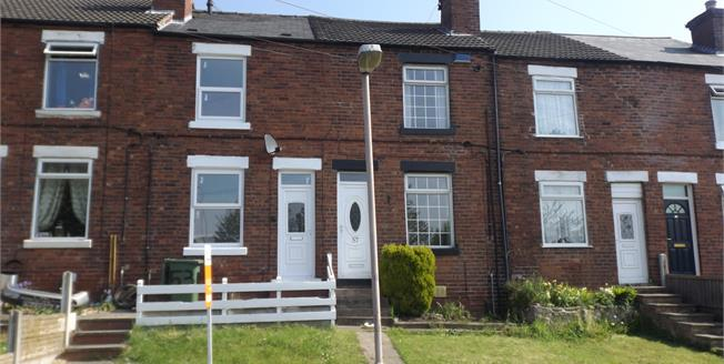 Offers in excess of £72,000, 2 Bedroom Terraced House For Sale in Mansfield Woodhouse, NG19