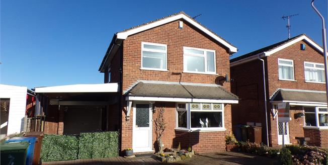 Offers Over £160,000, 3 Bedroom Detached House For Sale in Mansfield Woodhouse, NG19