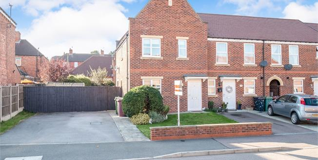 Offers in the region of £120,000, 3 Bedroom Terraced House For Sale in Shirebrook, NG20