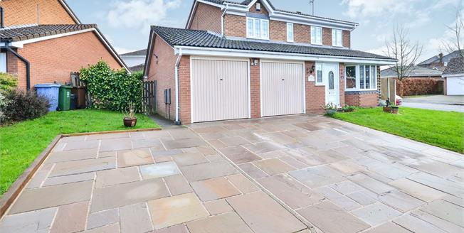 Offers Over £260,000, 4 Bedroom Detached House For Sale in Mansfield Woodhouse, NG19