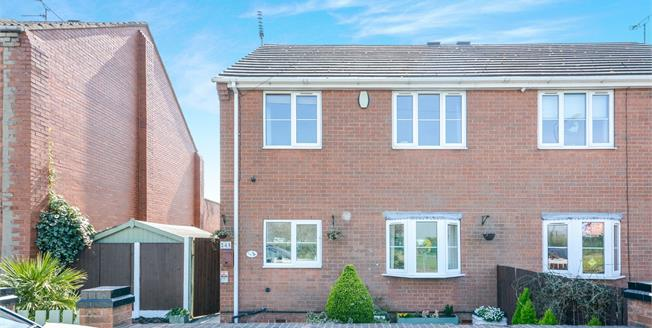 Asking Price £100,000, 3 Bedroom Semi Detached House For Sale in Shirebrook, NG20