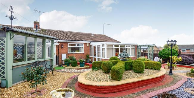 Offers in the region of £190,000, 3 Bedroom Detached Bungalow For Sale in Forest Town, NG19