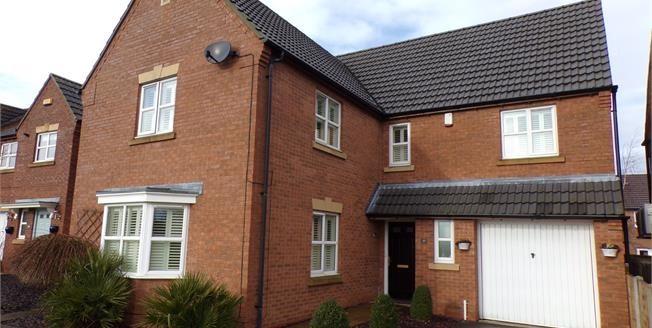 Asking Price £229,950, 4 Bedroom Detached House For Sale in Mansfield Woodhouse, NG19