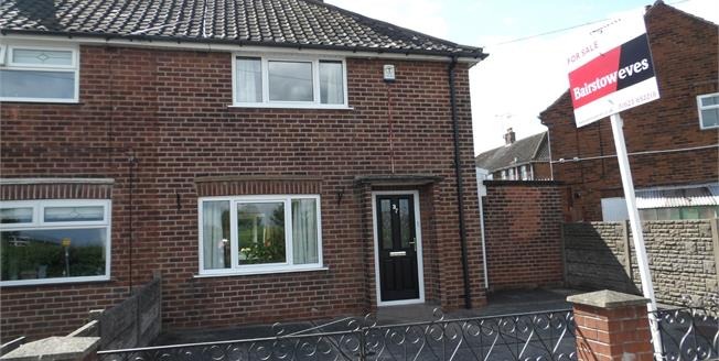 Guide Price £95,000, 2 Bedroom Semi Detached House For Sale in Mansfield Woodhouse, NG19