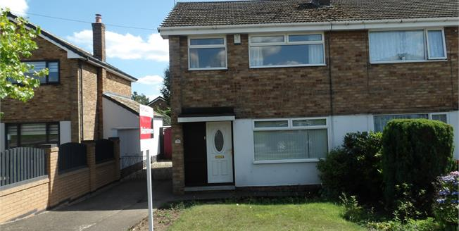 Offers Over £140,000, 3 Bedroom Semi Detached House For Sale in Mansfield Woodhouse, NG19