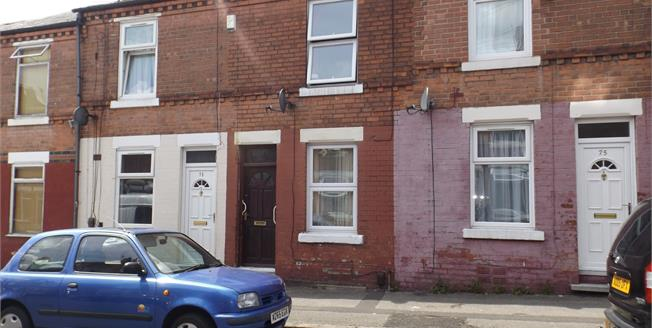 Asking Price £90,000, 2 Bedroom Terraced House For Sale in Nottingham, NG7