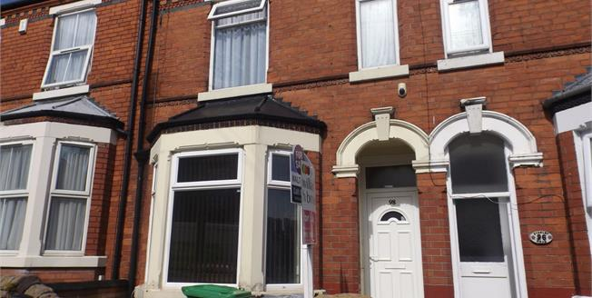 Offers Over £120,000, 3 Bedroom Terraced House For Sale in Forest Fields, NG7