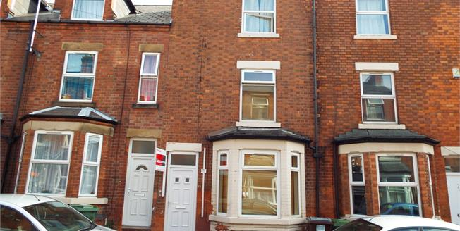 £100,000, 3 Bedroom Terraced House For Sale in Nottinghamshire, NG7