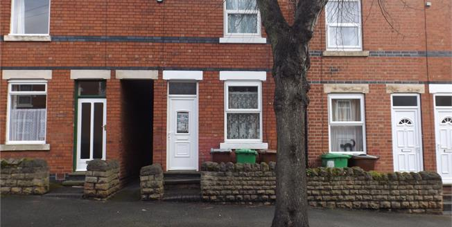 Offers Over £110,000, 2 Bedroom Terraced House For Sale in Nottingham, NG7