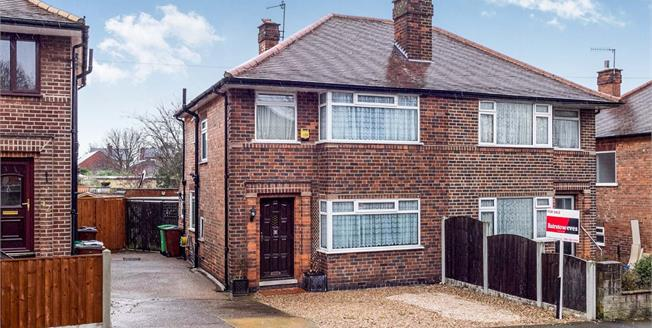 Asking Price £130,000, 3 Bedroom Semi Detached House For Sale in Nottingham, NG6