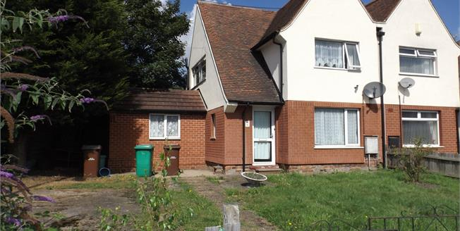 £105,000, 3 Bedroom Semi Detached House For Sale in Nottingham, NG6