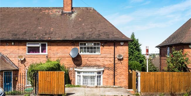 Asking Price £110,000, 3 Bedroom End of Terrace House For Sale in Nottingham, NG5