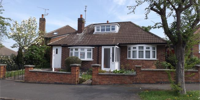 Asking Price £220,000, 2 Bedroom Detached Bungalow For Sale in Oadby, LE2