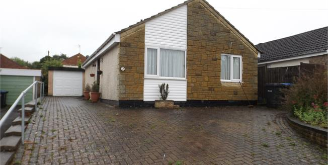 Asking Price £180,000, 2 Bedroom Detached Bungalow For Sale in Great Glen, LE8
