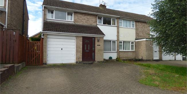 Asking Price £235,000, 3 Bedroom Semi Detached House For Sale in Oadby, LE2