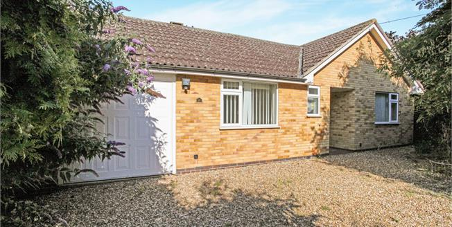 Guide Price £265,000, 4 Bedroom Detached Bungalow For Sale in Oadby, LE2