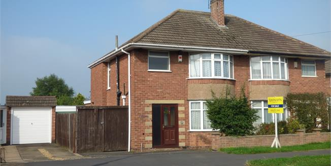 Asking Price £225,000, 3 Bedroom Semi Detached House For Sale in Oadby, LE2