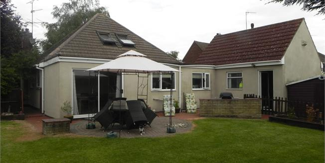 Guide Price £325,000, 4 Bedroom Detached Bungalow For Sale in Weldon, NN17