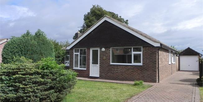 Guide Price £300,000, 3 Bedroom Detached Bungalow For Sale in Cottesmore, LE15